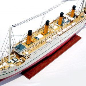 HMHS Britannic Wooden Model Ship - GN (CS0024P)