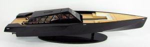 Wally Power 118 Wooden Model Ship - GN (SB0059BP)