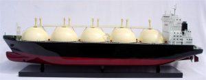Gas Tanker Ship Model - GN (TK0020P)