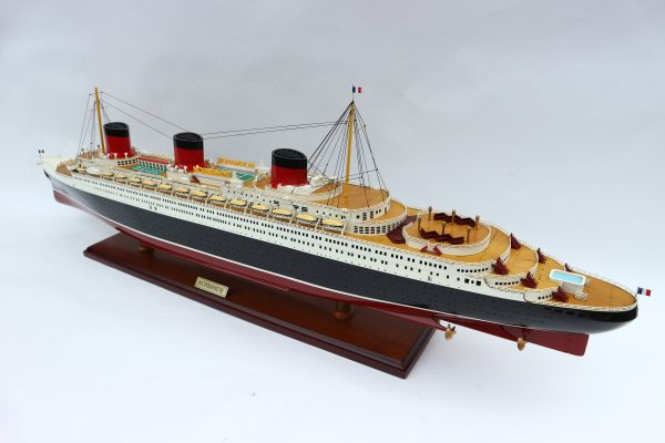Normandie Special Edition Wooden Model Ship - GN (CS0004SE-100)