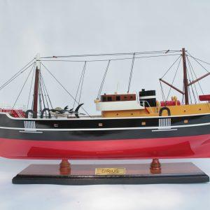 Sirius Tintin Model Ship - GN (FB0064P-60/90)