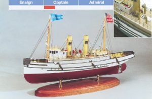 Lackawanna Model Ship Kit - BlueJacket (K1002)
