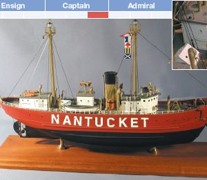 Nantucket (LV 112) Model Ship Kit - BlueJacket (K1015)