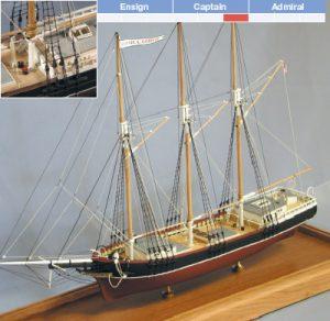 Fannie A. Gorham Model Boat Kit - BlueJacket (K1016)
