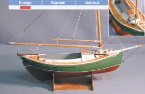 Yankee Hero 1989 Model Boat Kit - BlueJacket (K1022)