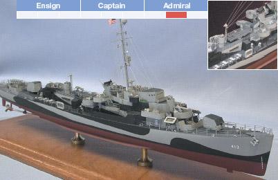 USS Samuel B. Roberts, DE413 Model Ship Kit - BlueJacket (K1003)