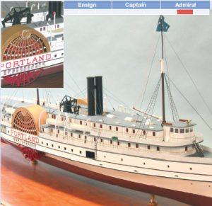 Portland Model Boat Kit - BlueJacket (K1036)