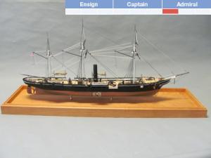 USS Kearsarge Model Boat Kit - BlueJacket (K1102)