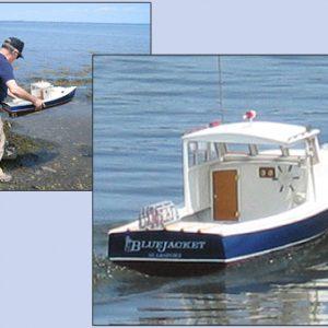 Maine Lobster Boat R/C Model Kit - BlueJacket (K204)