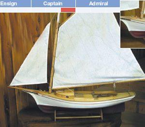 Muscongus Bay Lobster Smack R/C Model Kit - BlueJacket (KLW117)