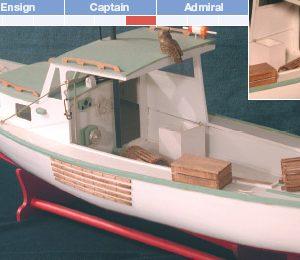 Lobster Boat Ship Model Kit - BlueJacket (KLW207)