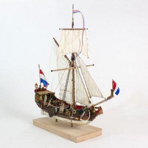 Statenjacht Model Ship Kit - Kolderstok (KOL7)