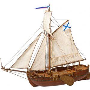 Deck-Boat St. Gabriel 1728 Ship Model Kit - Master Korabel (MK0301)