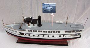 Virginia V Ship Model – GN (CS0122P)